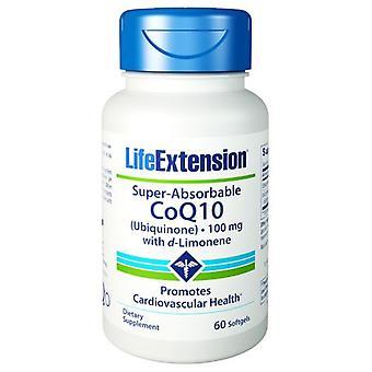 Estensione vita Super Assorbebile CoQ10, 100 mg, 60 Softgel