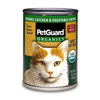 PetGuard kissanruoka, kana ja vihannes entree 5,5 unssia