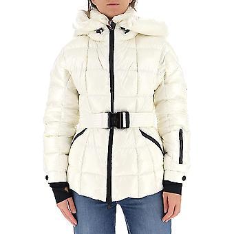 Moncler Grenoble 1a506539ft041 Women's White Nylon Down Jacket
