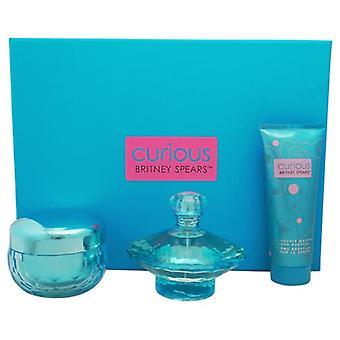 Britney Spears Curious Eau de Parfum Spray 100ml Gift Set