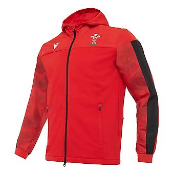 2020-2021 Wales Travel Full Zip Hooded Sweatshirt (Red)