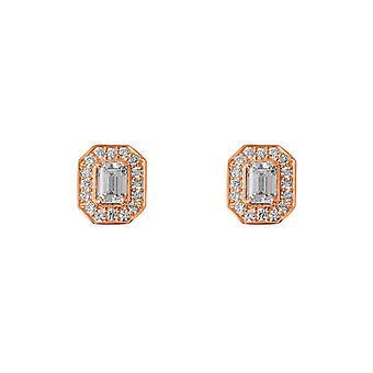 Boucles d'oreilles Charlotte 18K Or et Diamants