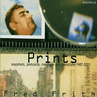 Fred Frith - Prints [CD] USA import