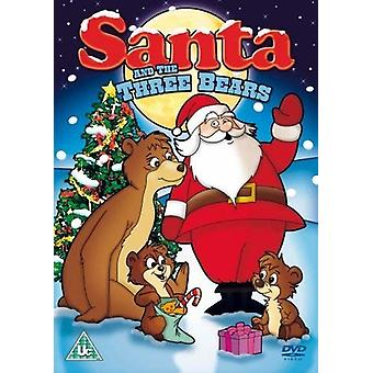 Santa & tre björnar [DVD] USA import