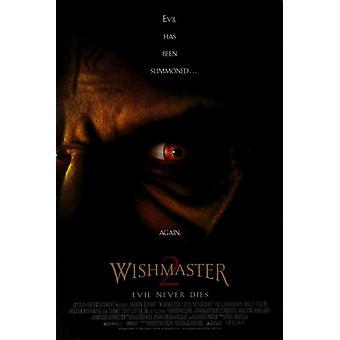 لا يموت الشر Wishmaster 2 ملصق الفيلم (11 × 17)