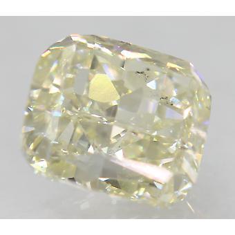 معتمد 1.21 قيراط أنا اللون VS1 وسادة الطبيعية فضفاضة الماس 6.06x5.58mm