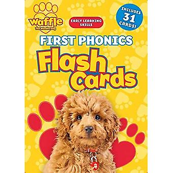 First Phonics Flash Cards (Waffle the Wonder Dog)