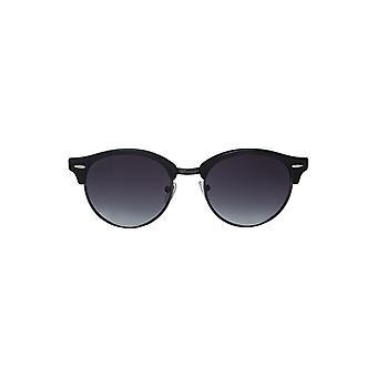 Louche Womens Katy Wayfarer Wooden Sunglasses Black