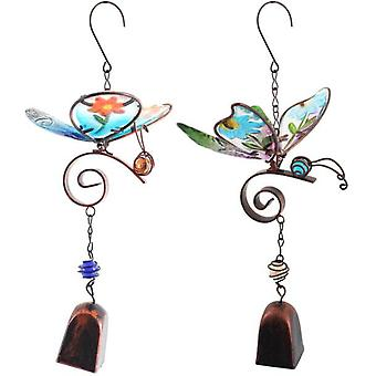 Butterfly Dangly Windchime Pack Of 2