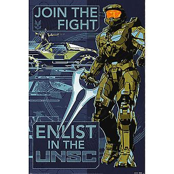 Halo Join The Fight Poster