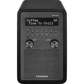 Sangean EPOCH 600 Desk radio DAB+, DAB, FM AUX, Bluetooth, DAB+, NFC, FM Incl. remote control, Alarm clock Black