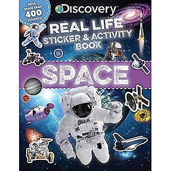 Löytö tosielämän tarra ja toimintakirja: Avaruus (Discovery Real Life Tarrakirjat)