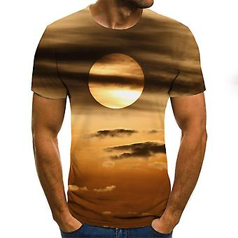Summer Style Short Sleeve T-shirts The 3d Print Casual T Shirts/women