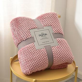 sofa teppe hjem tekstil teppe fluffy komfortabel flanell teppe for barn
