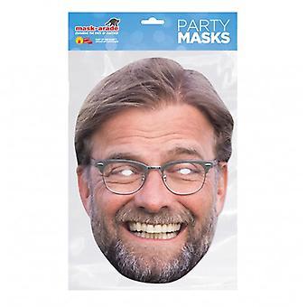 Máscara de fiesta Mask-arade Jurgen Klopp
