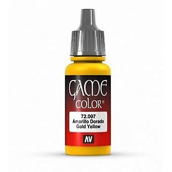 Vallejo Game Color 17ml Acrylic Paint 7 Gold yellow
