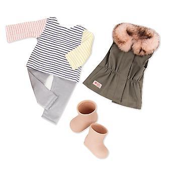 Meidän sukupolvemme bd30314 hauska turkis pudota nukke vaatteita, erilaisia