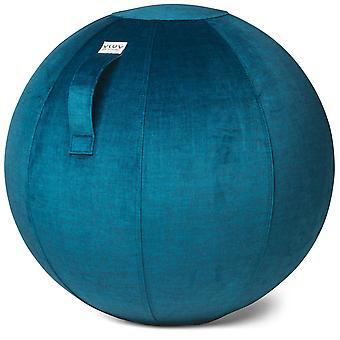 Vluv Varm Samt-Sitzball Durchmesser 60-65 cm Pacific