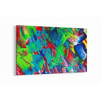 Schilderij - Art abstract paint — 90x60cm