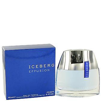 ICEBERG EFFUSION by Iceberg Eau De Toilette Spray 2.5 oz / 75 ml (Men)