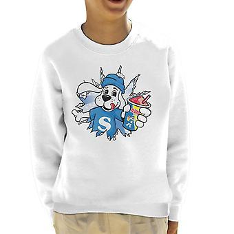Slush Puppie Burst Through Kid's Sweatshirt