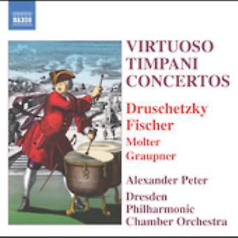 Virtuoso Timpani Concertos - Virtuoso Timpani Concertos [CD] USA import