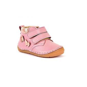 FRODDO Skórzane buty na rzep z motylami