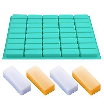 40 Cavity Rectangle Soap Bar Mold