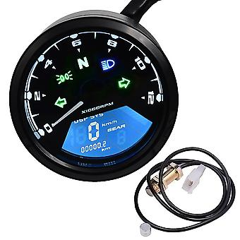 Motorcycle Panel Speedometer Night Vision Dial Odometer Led Multi-fonction
