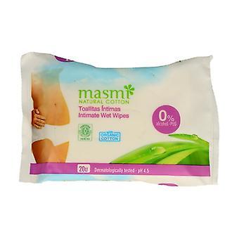 Feminine Intimate Wet Wipes 20 units