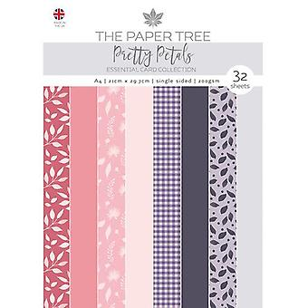 The Paper Tree - Pretty Petals Collection - A4 Essential Colour Card