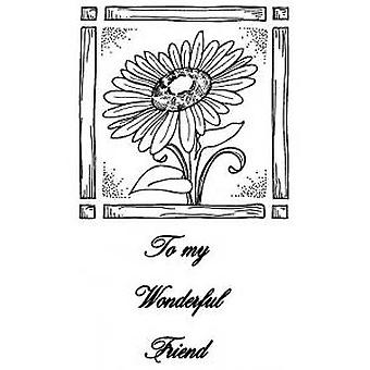 Creative Expressions Sunflower Delight 2 Pre Cut Stamps