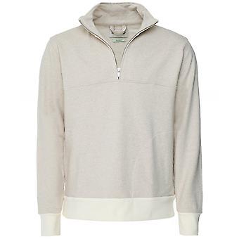 Oliver Spencer Cotton Linen Half-Zip Sutton Sweatshirt