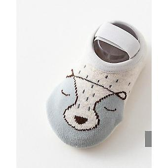 Cute Cartoon Design-cotton Soft Floor Socks