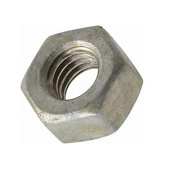 M6 Galvanised Heavy Hexagon Nut - A194 Grade 2h Tapped Oversize
