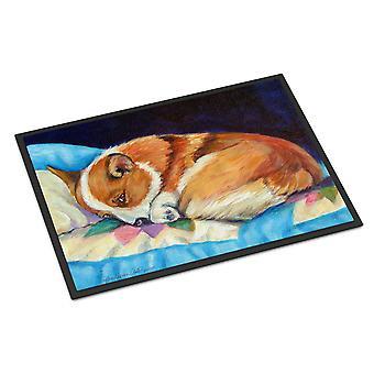 Caroline's Treasures 7291MAT Corgi Indoor Outdoor Doormat, 18 x 27, Multicolor