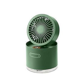 Portable Desktop Folding Mini Fans Small Fan Spray Cooling Rechargeable Portable Spray Cooling Artifact USB Humidifier