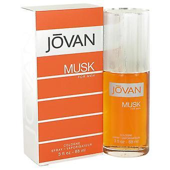 Jovan Musk Colonia Spray por Jovan 3 oz Colonia Spray
