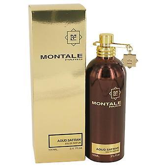 Montale Aoud Safran Eau De Parfum Spray von Montale 3.4 oz Eau De Parfum Spray