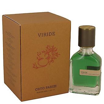 Viride Parfum Spray By Orto Parisi 1.7 oz Parfum Spray