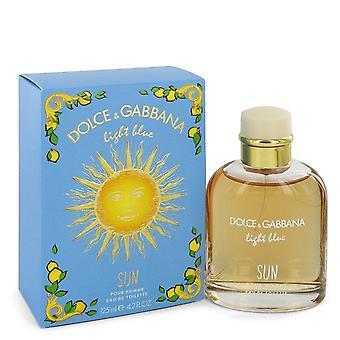 Light Blue Sun Eau de toilette spray af Dolce & Gabbana 4,2 oz Eau de toilette spray