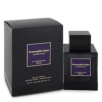 Florentine Iris Eau De Parfum Spray por Ermenegildo Zegna 3.4 oz Eau De Parfum Spray