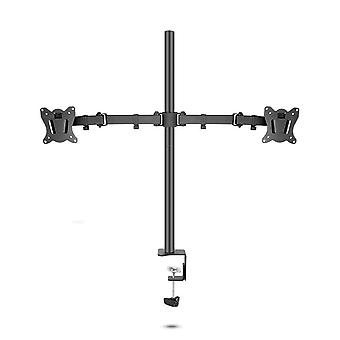 "80cm Dl-t902-280ii Full Motion Dual Monitor Desktop Stand Holder 10""-27"""