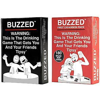 Buzzed Board Games Dies ist die Wahrheit trinken Party Strategie, die Sie und Ihre betrunkenen Freunde Brettspielkarte für Erwachsene Spielzeug macht