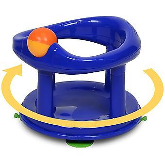 Säkerhet 1: a svängbara babybadkar 360 graders stödstol blå