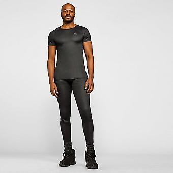 New ODLO Men's Active F-Dry Light Eco Short Sleeve BaseLayer Top Grey