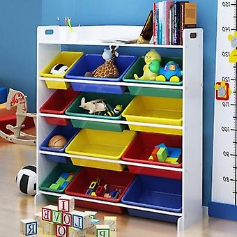 Children Cabinet Furniture Kids Bookshelf Bookcase Storage Cabinet Baby Toy