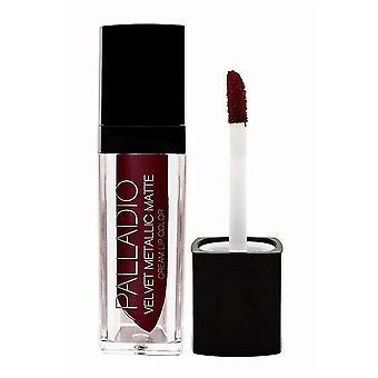 Palladio Velvet Matte Metallic Liquid Lipstick 17 opulent