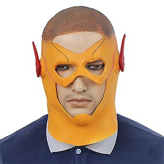 Halloween Flash Mask Rekwisieten Latex Hoofddeksels Cosplay Rekwisieten