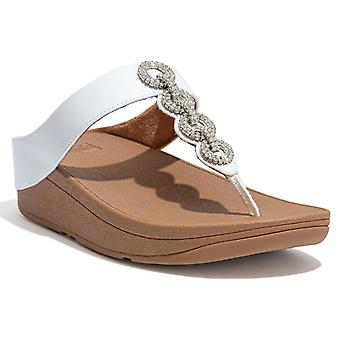 FitFlop™ Fino Sparkle Womens Toe Post Sandals